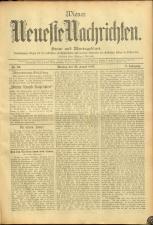 Wiener Neueste Nachrichten 18950826 Seite: 1