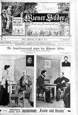 Wiener Bilder 19050426 Seite: 1