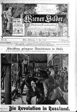 Wiener Bilder 19050712 Seite: 1