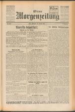 Wiener Morgenzeitung 19250225 Seite: 1