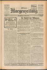 Wiener Morgenzeitung 19250226 Seite: 1