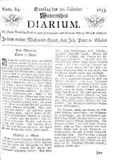Wiener Zeitung 17531020 Seite: 1