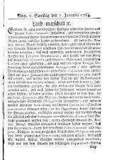 Wiener Zeitung 17640107 Seite: 13