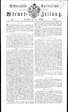 Wiener Zeitung 18210824 Seite: 1