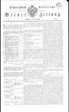 Wiener Zeitung 18320109 Seite: 1