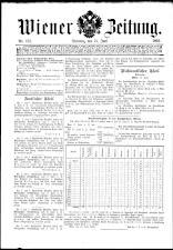 Wiener Zeitung 18930613 Seite: 1