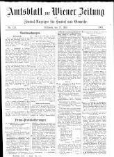 Wiener Zeitung 19080527 Seite: 27
