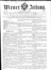 Wiener Zeitung 19080528 Seite: 1