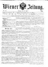 Wiener Zeitung 19090528 Seite: 1