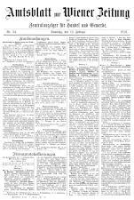 Wiener Zeitung 19160212 Seite: 21