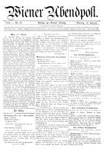 Wiener Zeitung 19160214 Seite: 1