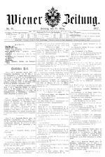 Wiener Zeitung 19170325 Seite: 1