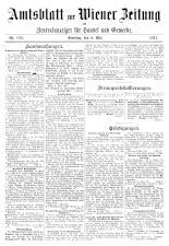 Wiener Zeitung 19170506 Seite: 23