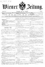 Wiener Zeitung 19171016 Seite: 1