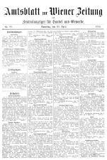Wiener Zeitung 19180420 Seite: 21