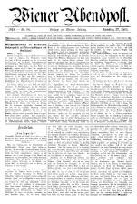 Wiener Zeitung 19180427 Seite: 19