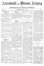 Wiener Zeitung 19180427 Seite: 23
