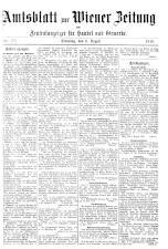 Wiener Zeitung 19180806 Seite: 21