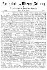 Wiener Zeitung 19181018 Seite: 19