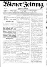 Wiener Zeitung 19211111 Seite: 1