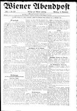 Wiener Zeitung 19211114 Seite: 1