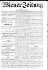 Wiener Zeitung 19230618 Seite: 1