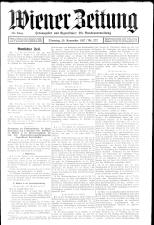 Wiener Zeitung 19271129 Seite: 1