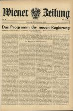 Wiener Zeitung 19451222 Seite: 1