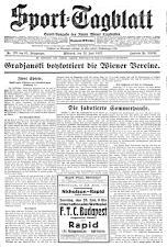 (Wiener) Sporttagblatt 19270622 Seite: 1