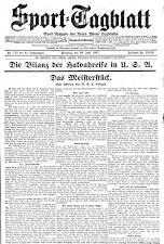 (Wiener) Sporttagblatt 19270628 Seite: 1