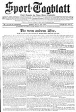 (Wiener) Sporttagblatt 19280717 Seite: 1