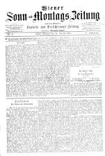 Wiener Sonn- und Montags-Zeitung 18870124 Seite: 1