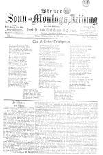 Wiener Sonn- und Montags-Zeitung 18930102 Seite: 1