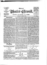 Wiener Theater-Chronik