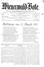 Wienerwald-Bote