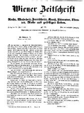 Wiener Zeitschrift