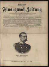 Zollämter- und Finanzwach-Zeitung 18930101 Seite: 1