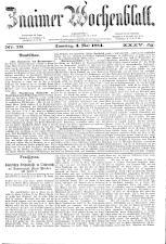 Znaimer Wochenblatt 18840503 Seite: 1