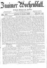 Znaimer Wochenblatt 18931007 Seite: 1