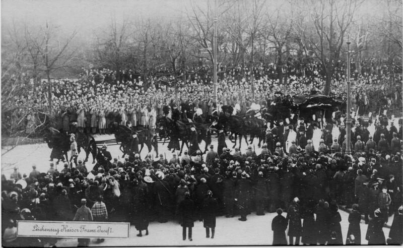 Leichenzug von Kaiser Franz Joseph I.