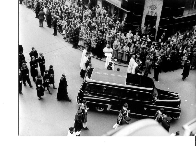 Begräbnis Innitzer