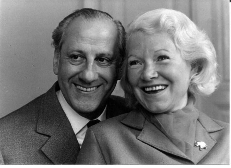 Cissy Kraner und Hugo Wiener