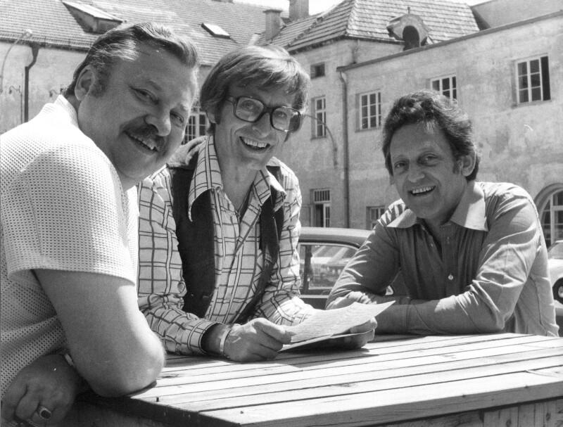 Hans Rosenthal, Günther Tolar und Ekkehard Fritsch