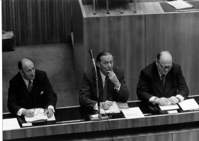 Drei Volksanwälte im Parlament