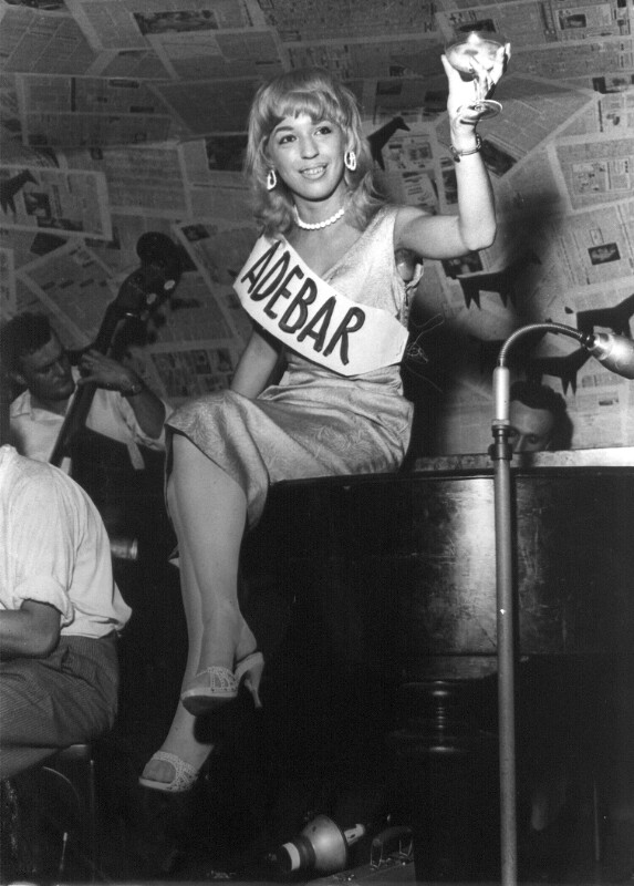 "Miss ""Adebar"" 1955"
