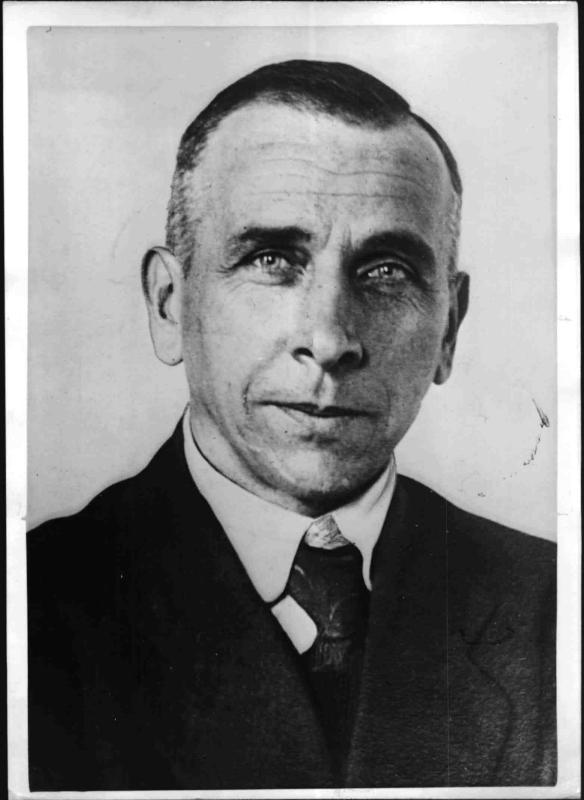 Der Polarforscher Alfred Wegener