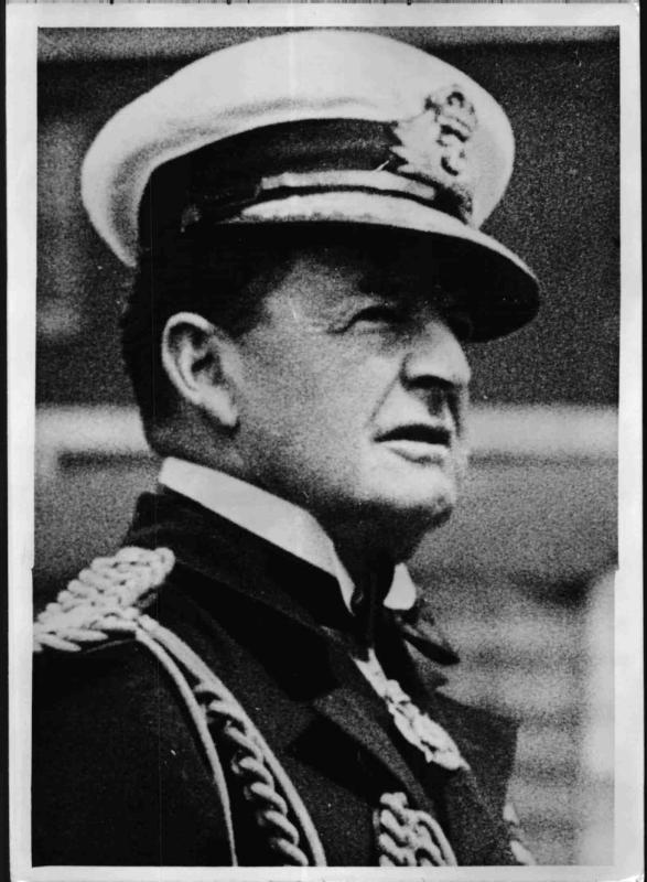 Der britische Admiral David Beatty