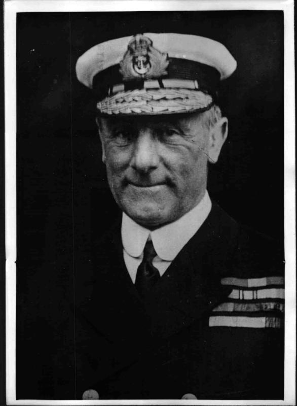 Der britische Großadmiral John Jellicoe