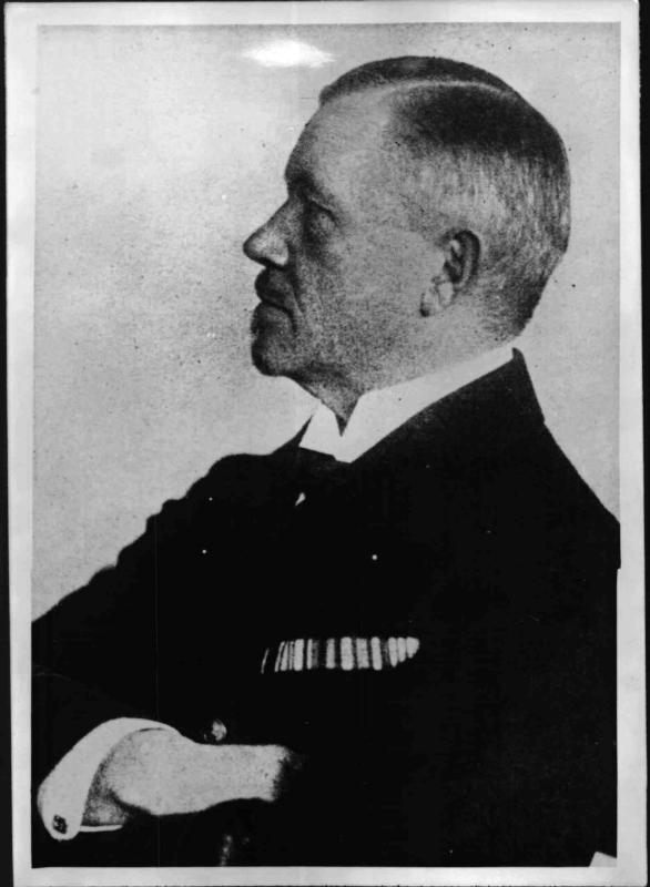 Der deutsche Admiral Reinhard Scheer