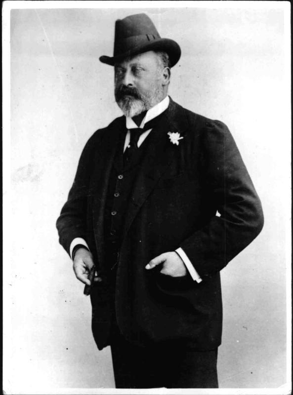 König Edward VII. von England